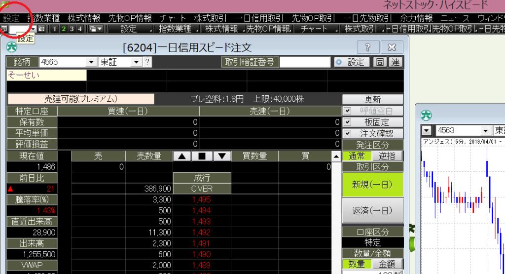 松井証券 ネットストック